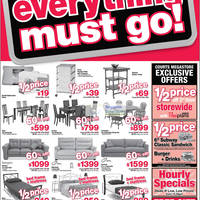 Read more about Courts Islandwide Clearance Promotion Offers 21 - 27 Jul 2012
