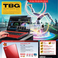 Read more about Lenovo Notebooks, Ultrabooks & AIO Desktop PC Promotion Offers 9 - 29 Jul 2012