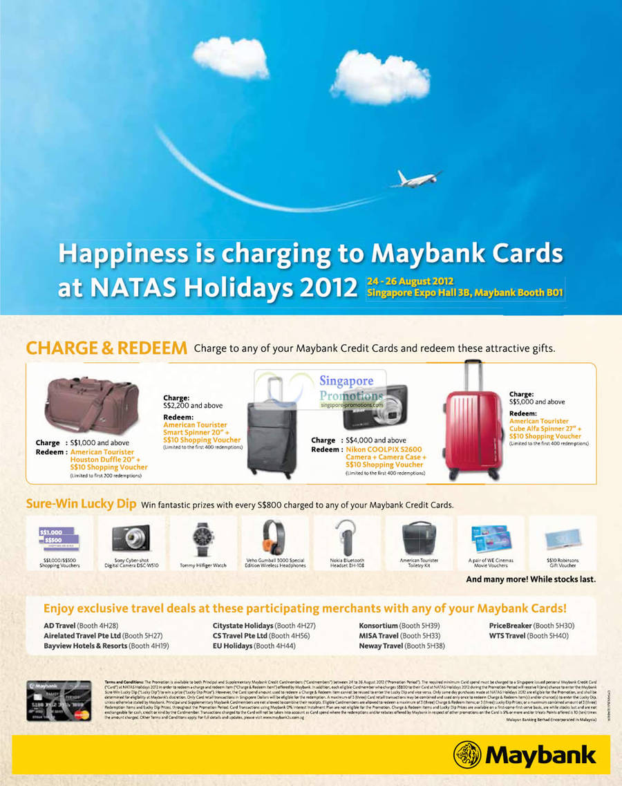 Maybank Credit Card Promotion For Travel