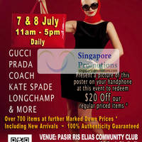 Read more about MyBagEmpire Branded Handbags & Accessories Sale @ Pasir Ris Elias CC 7 - 8 Jul 2012