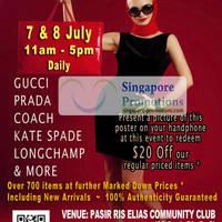 Read more about MyBagEmpire Branded Handbags & Accessories Sale @ Pasir Ris Elias CC 7 - 8 Jul 2012