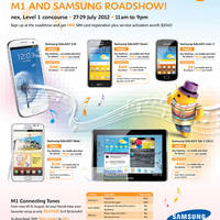 Read more about M1 Smartphones, Tablets & Home/Mobile Broadband Offers 28 Jul - 3 Aug 2012