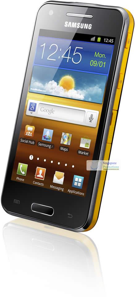 Samsung galaxy beam 2 samsung singapore announces for Samsung beam smartphone