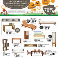 Read more about Scanteak Toh Guan Anniversary Sale Up To 70% Off 7 - 8 Jul 2012