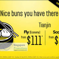 Read more about Scoot Singapore Tianjin Promotion Air Fares 18 - 22 Jul 2012