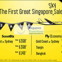 Read more about Scoot Singapore Great Singapore Sky Sale 23 - 29 Jul 2012