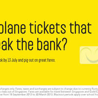 Read more about Scoot Singapore Flyscoot From $49 Promotion Air Fares 11 - 13 Jul 2012