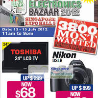 Read more about Food & Electronics Bazaar 2012 @ Singapore Expo 13 - 15 Jul 2012