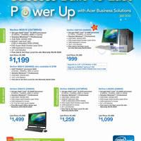 Read more about Acer Business Notebooks & Desktop PC Price List 2 - 31 Jul 2012