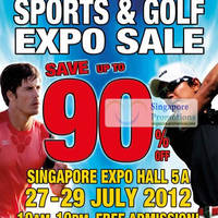 Read more about World of Sports & World of Golf Sale @ Singapore Expo 27 - 29 Jul 2012