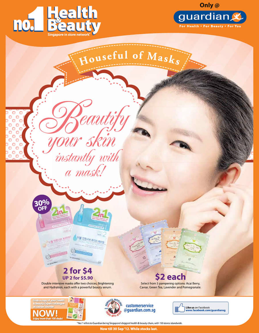 2 in 1 Double Intensive Masks