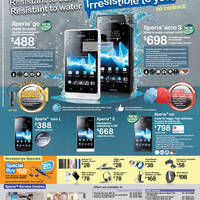 Read more about 6Range Sony Smartphones No Contract Price List Offers 17 Aug 2012