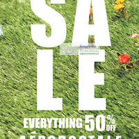 Read more about Aeropostale 50% OFF Sale Islandwide @ Citylink Mall, Bugis+ & ION Orchard 3 Aug 2012