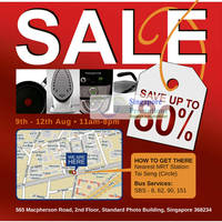 Read more about Best Denki Home Appliances & Cookware Warehouse Sale Up To 80% Off 9 - 12 Aug 2012