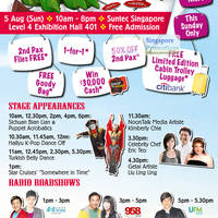 Read more about Chan Brothers Travel Fair 2012 Promotions @ Suntec 5 Aug 2012