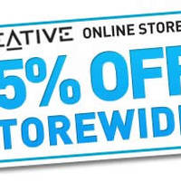 Read more about Creative Store 15% Off Storewide Coupon Code 8 - 15 Aug 2014