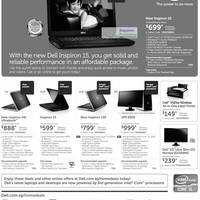 Read more about Dell Notebooks, Monitors & Desktop PC Promotion Offers 21 - 30 Aug 2012