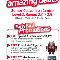 Read more about Singtel COMEX 2012 Smartphones, Tablets, Home/Mobile Broadband & Mio TV Offers 30 Aug - 2 Sep 2012