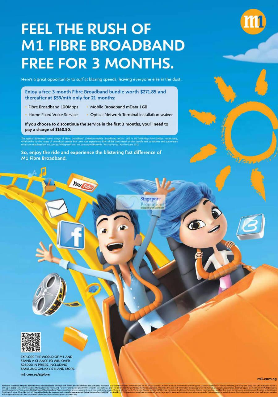 Fibre Broadband Free 3 Month