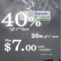 Read more about GNC 40% Off 2nd Item & 25% Off 1st Item National Day Islandwide Promotion 3 Aug 2012