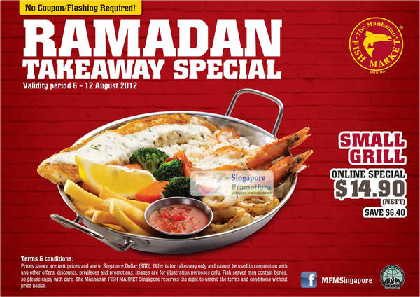 Ramadan special nov 2017 for Manhattan fish and chicken menu