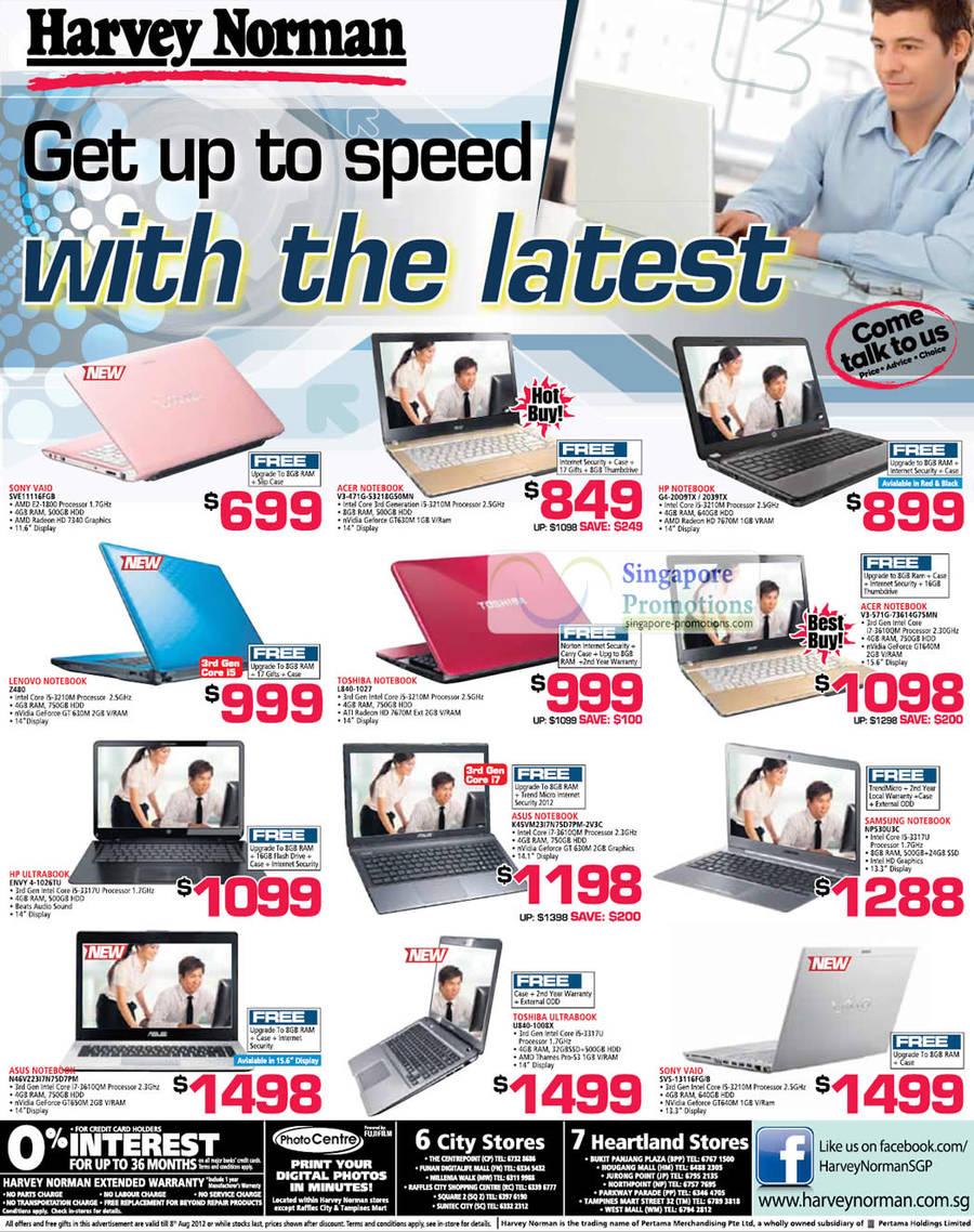SONY VAIO SVE11116FGB Notebook, ACER Notebook V3-471G-53218G50MN, LENOVO Notebook Z480, TOSHIBA Notebook L840-1027, HP Ultrabook Notebook ENVY 4-1026TU, ASUS Notebook N46VZ23I7N75D7PM, TOSHIBA Ultrabook Notebook U840-1008X, SONY VAIO Notebook SVS-13116FG/B, ASUS Notebook K45VM23I7N75D7PM-2V3C, HP Notebook G4-2009TX, HP Notebook G4-2039TX, ACER Notebook V3-571G-73614G75MN, SAMSUNG Notebook NP530U3C