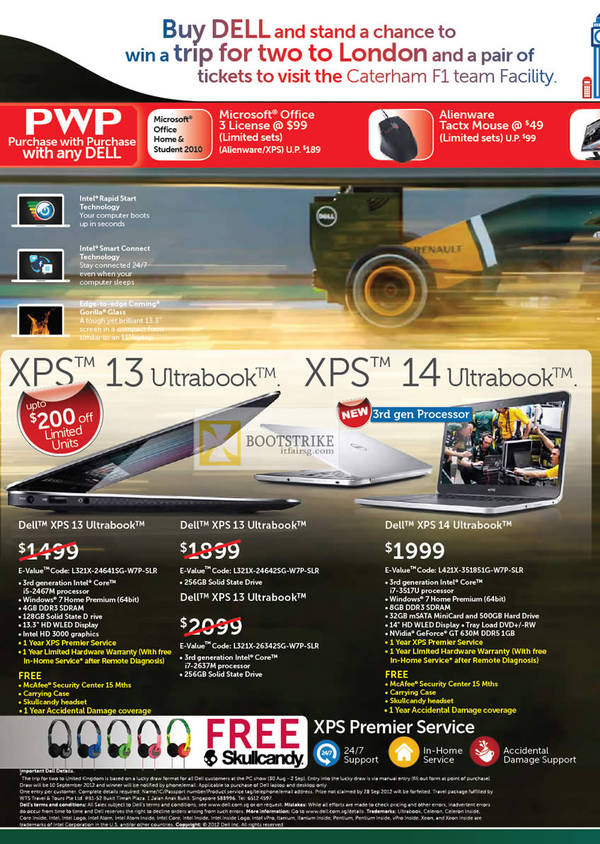 Reseller Notebooks XPS 13 Ultrabook, XPS 14 2