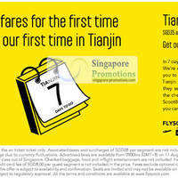Read more about Scoot Singapore $7 Tianjin Air Fares Promotion 17 - 19 Aug 2012
