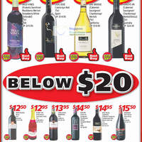 Read more about Shop N Save Below $20 Wine Offers 2 - 15 Aug 2012