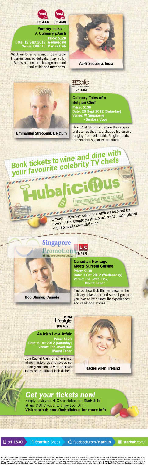 TV Hubalicious Heritage Food Trail