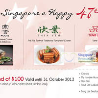 Read more about Tung Lok Restaurants 47% Off With $100 Spend 6 Aug - 31 Oct 2012