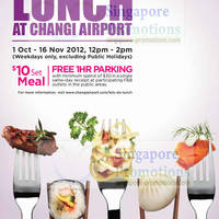 Read more about Changi Airport Special $10 Lunch Menu Offers 1 Oct - 16 Nov 2012