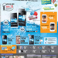 Read more about 6range Sony Smartphones No Contract Price List Offers 31 Aug 2012