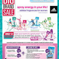 Read more about Watsons Personal Care, Health, Cosmetics & Beauty Offers 20 - 26 Sep 2012