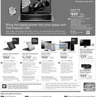 Read more about Dell Notebooks, Monitors & Desktop PC Promotion Offers 10 - 20 Sep 2012
