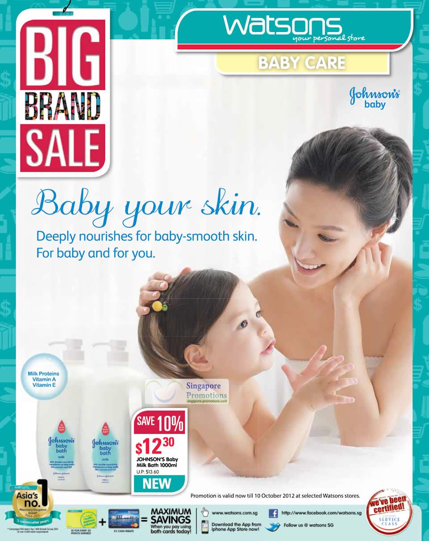 JOHNSONS Baby Milk Bath