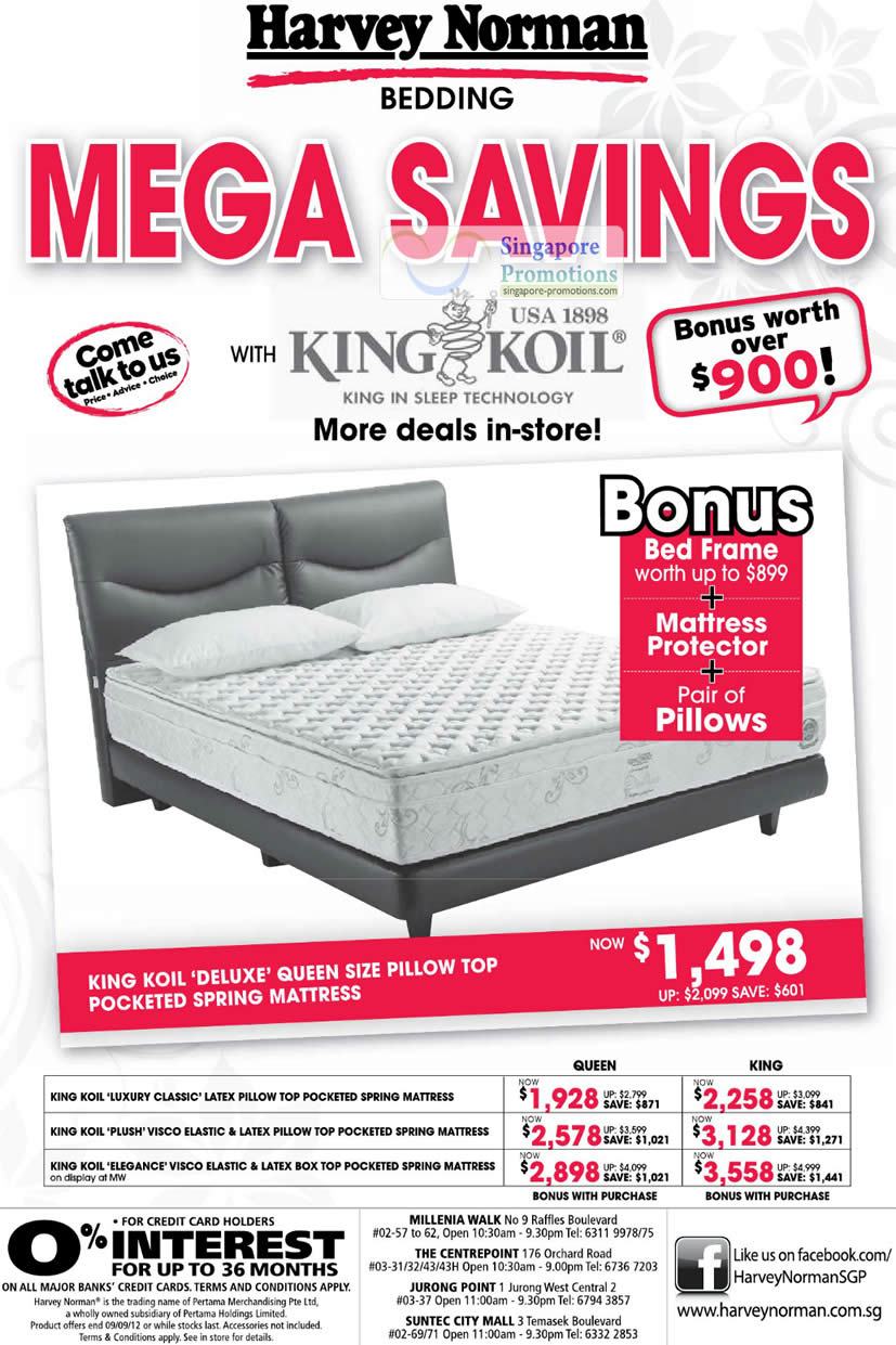 KING KOIL DELUXE Mattress, KING KOIL LUXURY CLASSIC Mattress, KING KOIL PLUSH VISCO ELASTIC Mattress, KING KOIL ELEGANCE VISCO ELASTIC Mattress