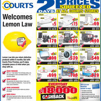 Read more about Courts Two Days Prices Squeezed Offers Promotion 1 - 2 Sep 2012