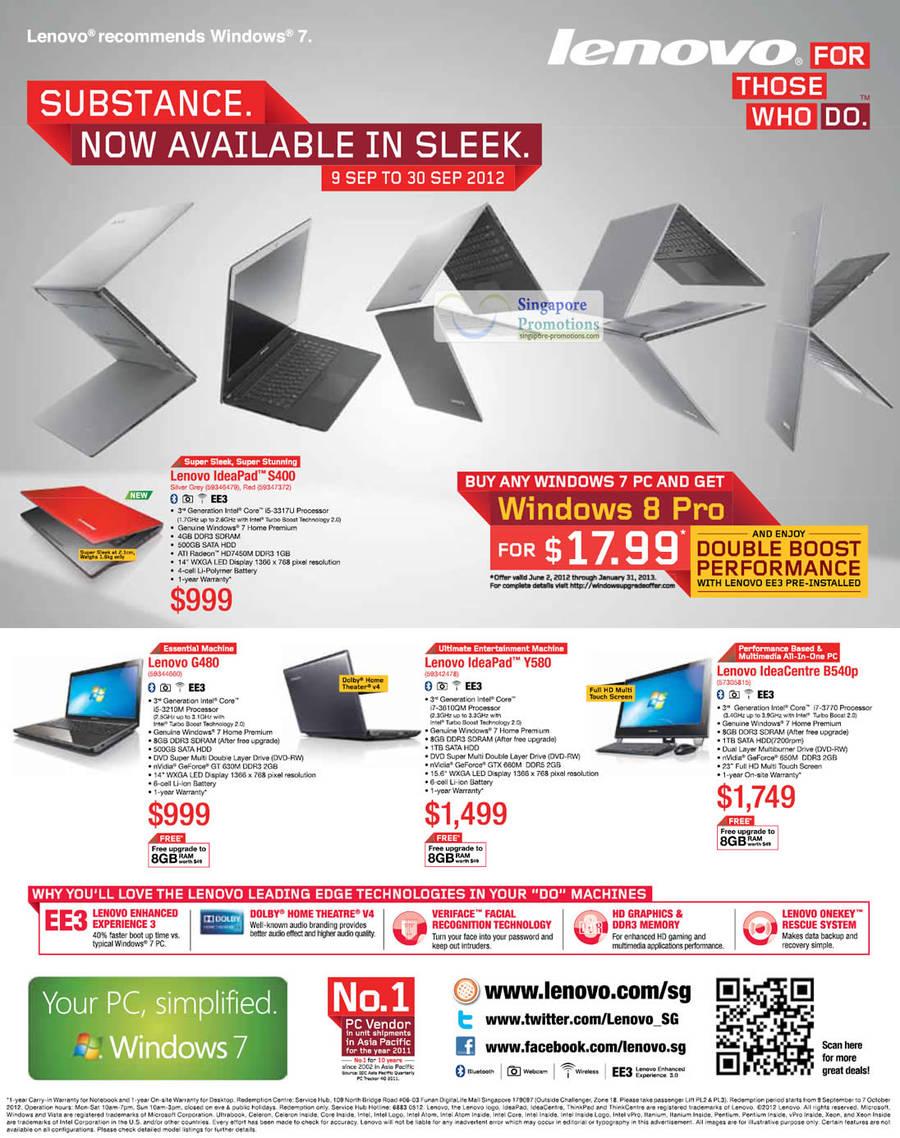 Lenovo 14 Sep 2012