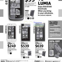 Read more about Nokia Smartphones & Mobile Phones No Contract Price List 15 Sep 2012
