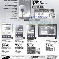 Read more about 3Mobile, Handphone Shop & GadgetWorld Samsung Smartphones No Contract Offers 29 Sep 2012