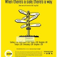 Read more about Scoot Singapore All Destinations On Sale 10 - 17 Sep 2012