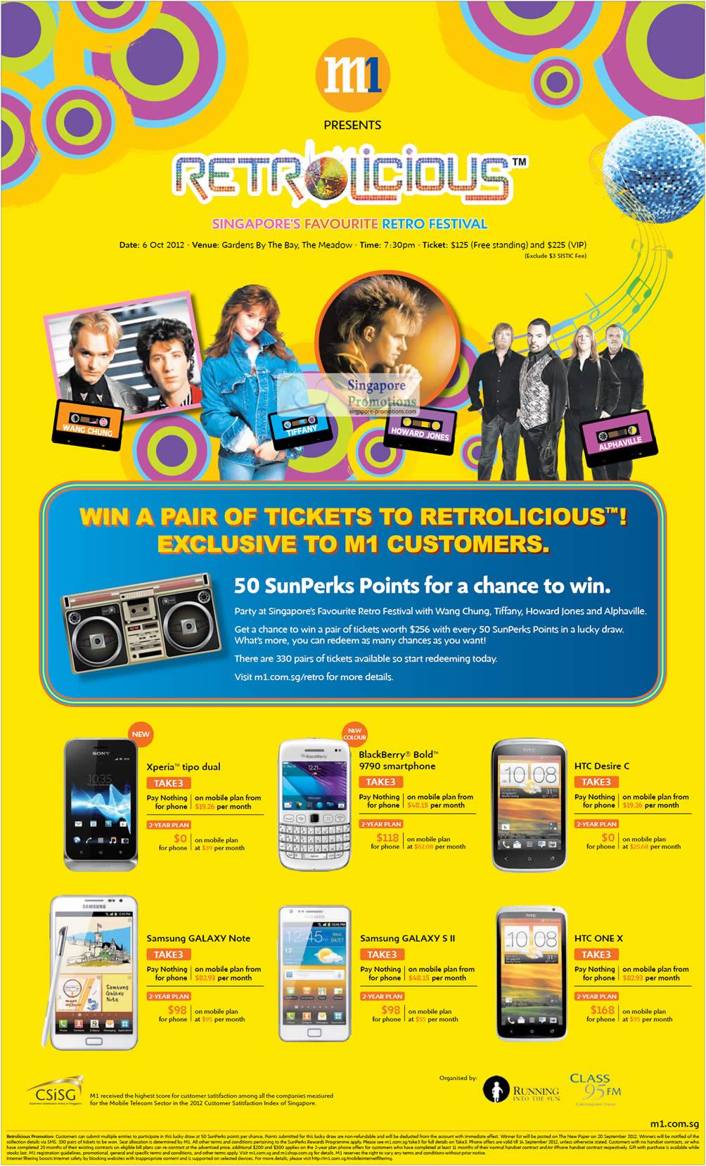 Sony Xperia Tipo Dual, Blackberry Bold 9790, HTC Desire C, One X, Samsung Galaxy Note, Samsung Galaxy S II