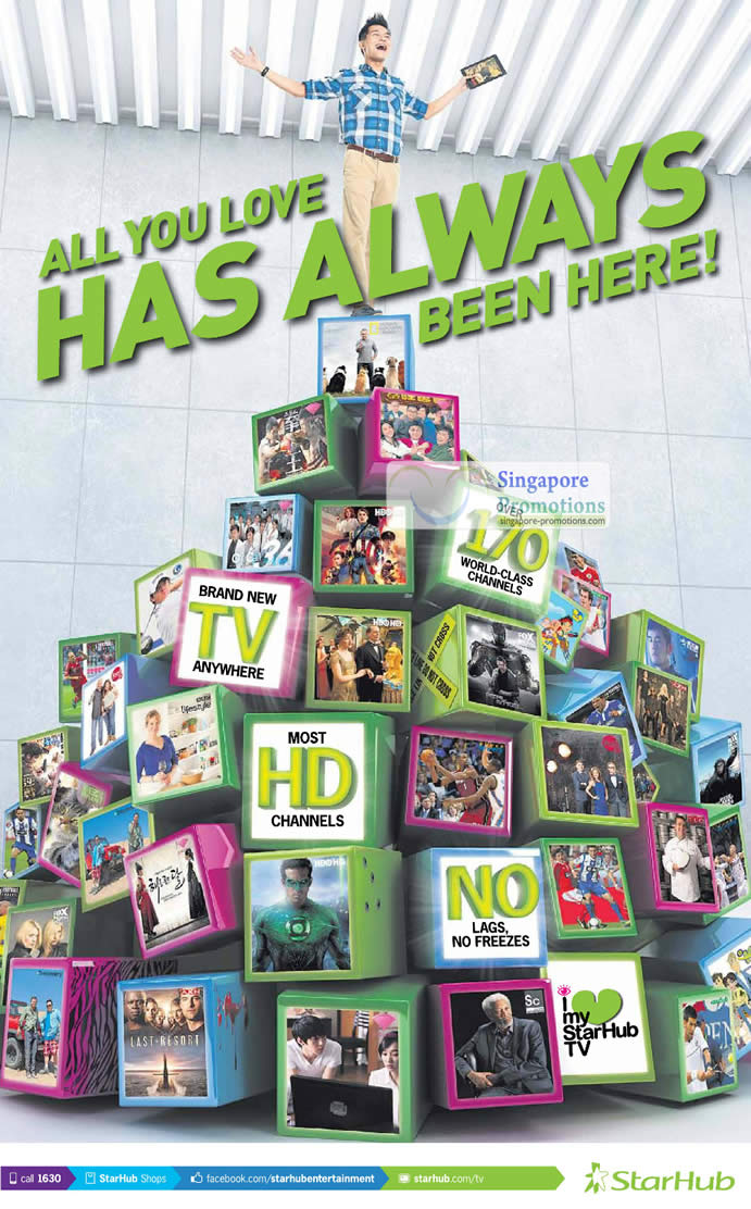 Starhub TV Anywhere, Channels, No Lags No Freezes
