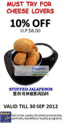Stuffed Jalepenos Coupon