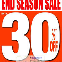 Read more about World of Sports Up To 30% Off End of Season Sale 14 Sep - 11 Oct 2012