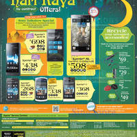 Read more about 6range Sony Smartphones No Contract Price List Offers 26 Oct 2012