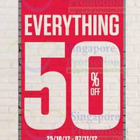 Read more about Aeropostale 50% OFF Storewide Sale @ Islandwide 25 Oct - 7 Nov 2012