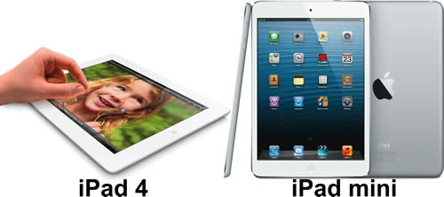 Apple iPad 4, Apple iPad Mini