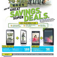 Read more about Starhub Smartphones, Tablets, Cable TV & Mobile/Home Broadband Offers 20 - 26 Oct 2012
